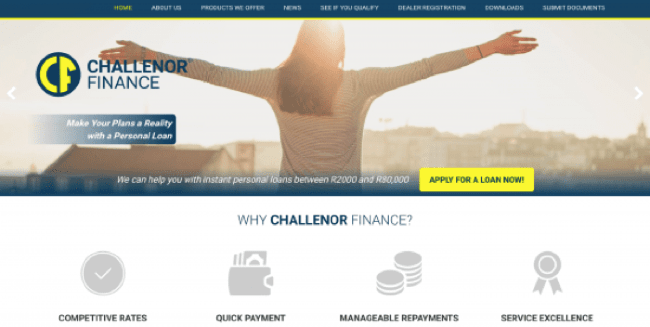Challenor Finance - Loans up to R80.000